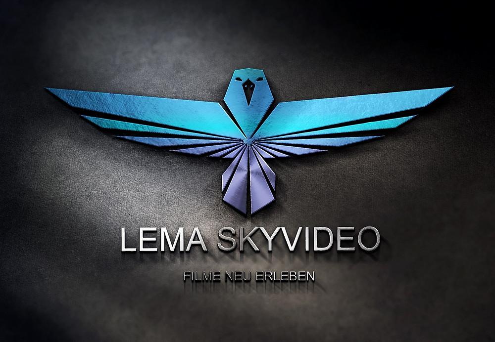 Logo Entwurf Günstig in 3D Stahleffekt lema webdesign