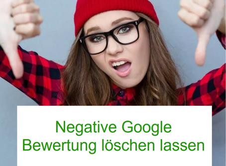 Google-Bewertungen und wie man sie wieder los wird