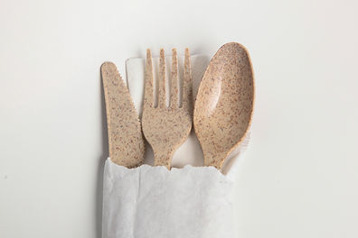 AvoplastiQs Agave Cutlery Set