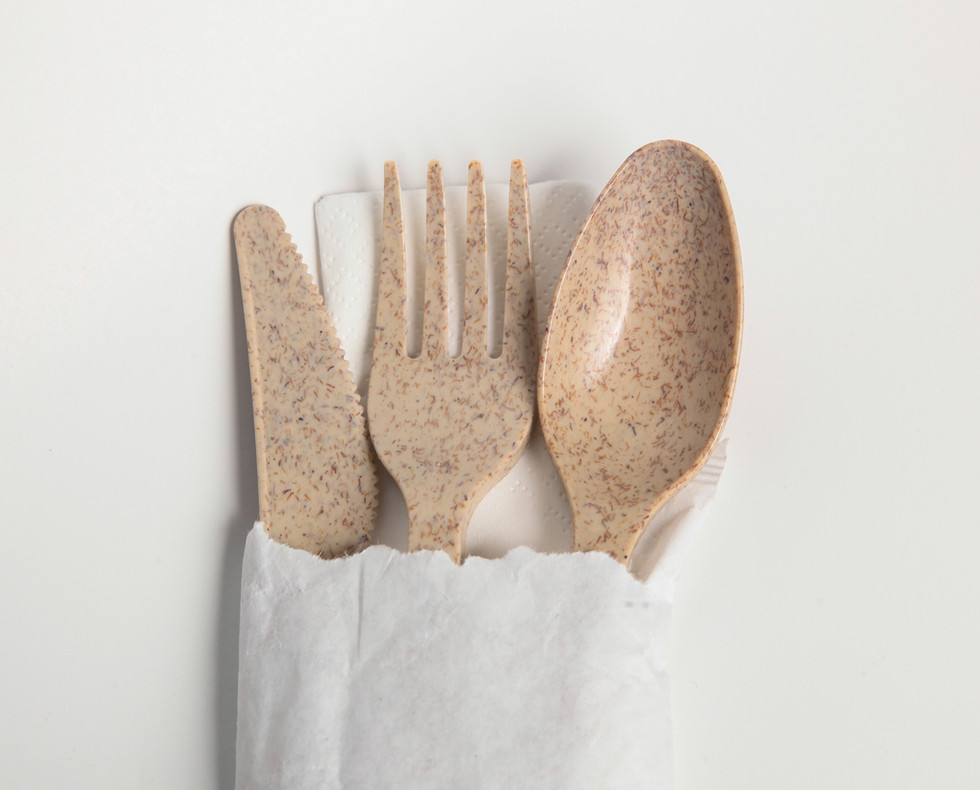 AvoplastiQs Agave Cutlery