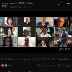 WORLD PEACE AND PRAYER DAY 2020 Heidi Little hosts Ela Gandhi, Nicole Yates, Cheif Looking Horse and more