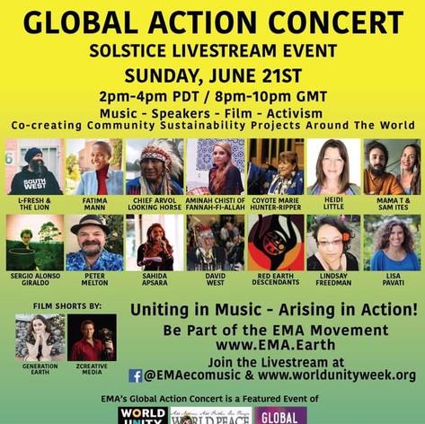 EMA Global Action Concert WUW