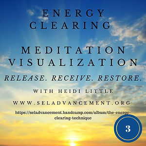 Energy Clearing Meditation Visualization
