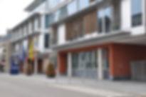 Stadhuis Putte gemeenteplein symbool voor de stad waarvoor wij luchthavenvervoer voorzien naar alle luchthavens