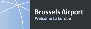 Brussels Airport Zaventem Welcome to Europe logo als symbool voor luchthavenvervoer luchthaventransfer
