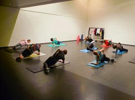 Pilates groepsles