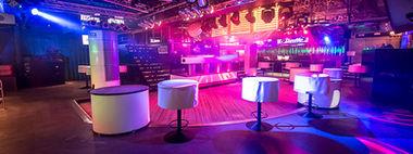 La Rocca Lier dancing discotheek foto binnenaanzicht zaal zonder mensen