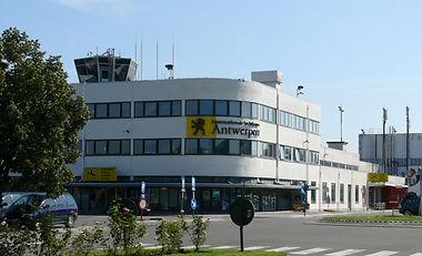 Internationale luchthaven van Antwerpen Deurne Antwerp Airport Terminal Building