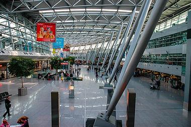 Düsseldorf Airport international terminal