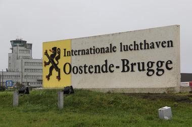 Internationale luchthaven Oostende Brugge Ostend Brugge Airport