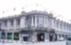 Bozar Paleis voor Schone Kunsten concertzaal gebouw vooraanzicht overdag