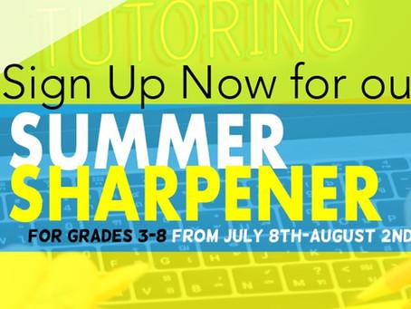 Summer Sharpener Giveaway