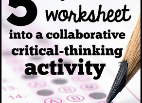 Guest Teacher Resource | Make Worksheets Fun!