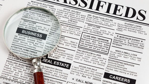 Where is the best spot to run an ad in a newspaper?