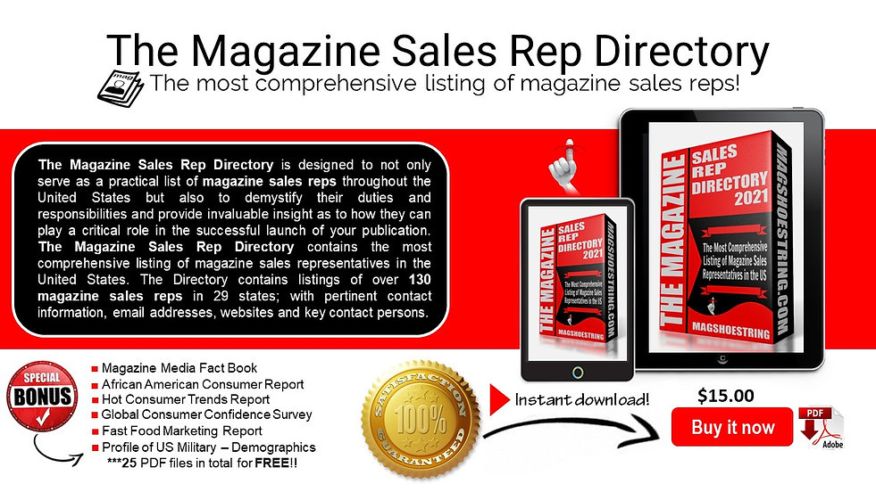 New Magshoestring Sales Rep Direc - Webs