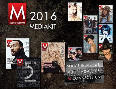 Music and Musician Media Kit