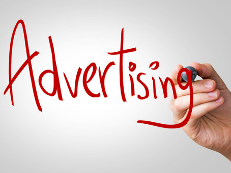 What is the difference between advertising in the magazines and in the newspapers?