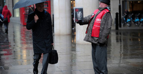 Big Issue magazine launches 'augmented reality' technology to share stories of homelessness...