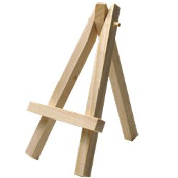 Rustic Country mini wooden easel
