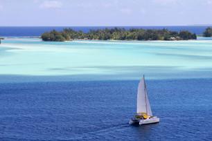 楽園の情景 フランス領ポリネシア タヒチ