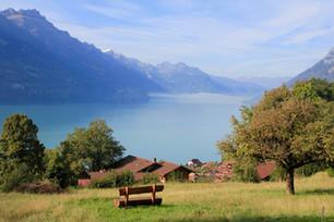 一瞬の切取り、スイスの風景