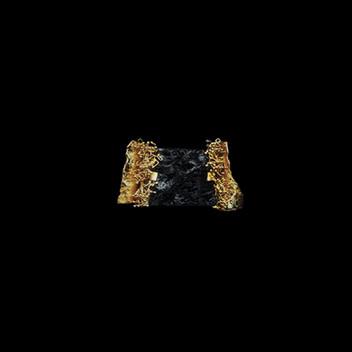 Paula Vieira Jewellery 19.2k Gold Ring and Nuummite