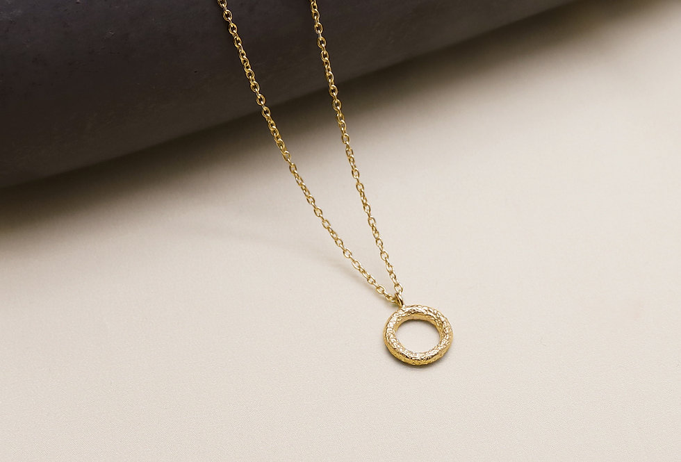 Wabi Gold Plated Silver Necklace