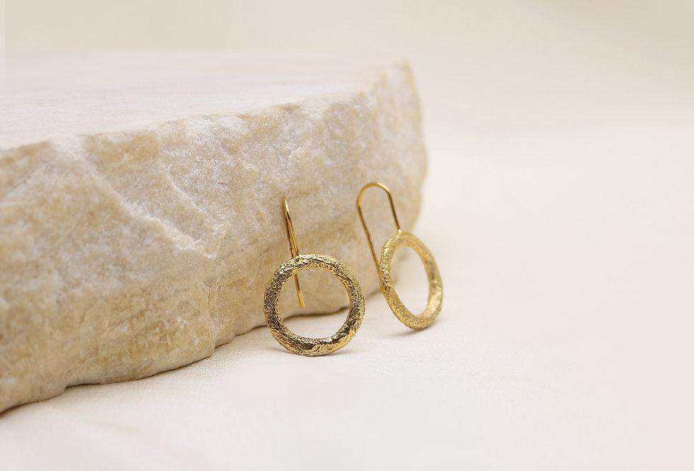 Wabi Gold Plated Silver Earrings