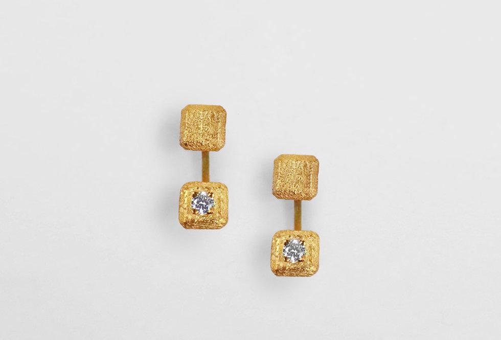 Paula Vieira Jewellery Rive Gauche Earrings