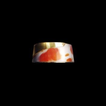 Paula Vieira Jewellery 19.2k Gold Ring and Shell