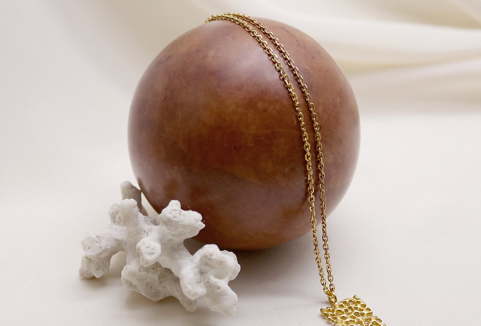 Vulcana Gold Plated Silver Necklace