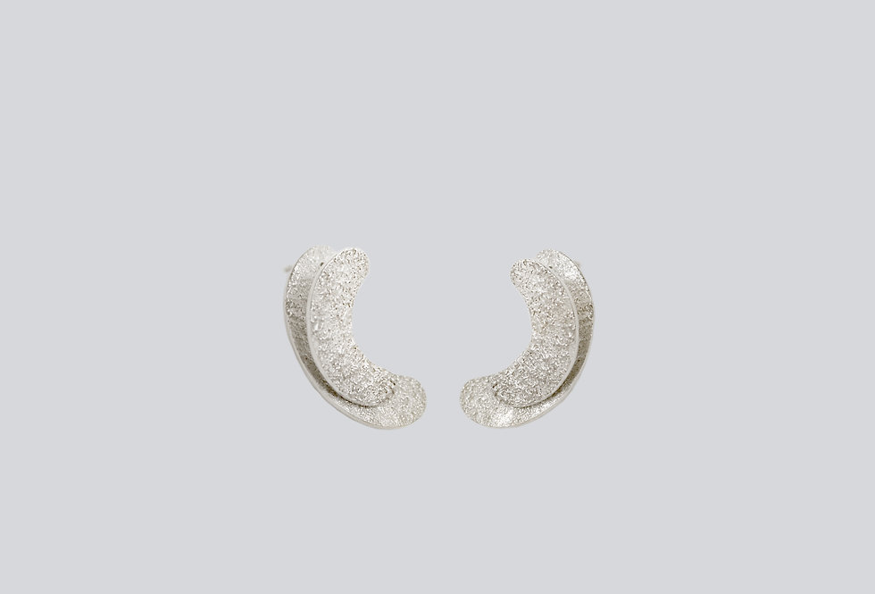 Seaflower Silver Earrings
