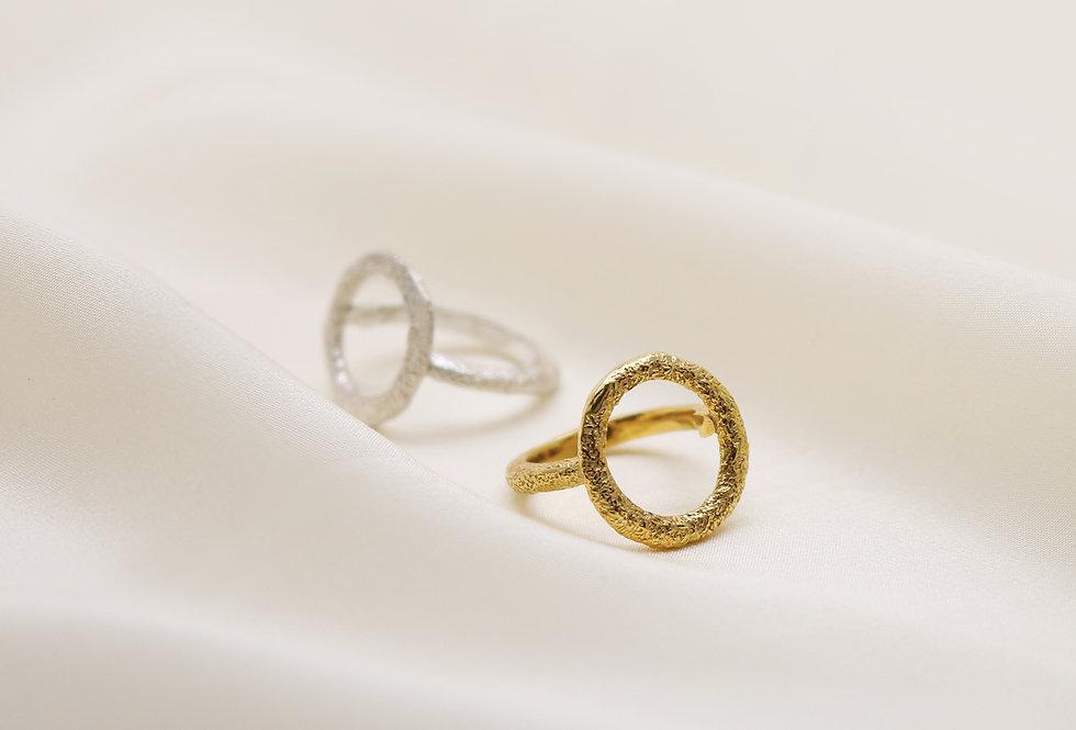 Wabi Textured Silver Rings