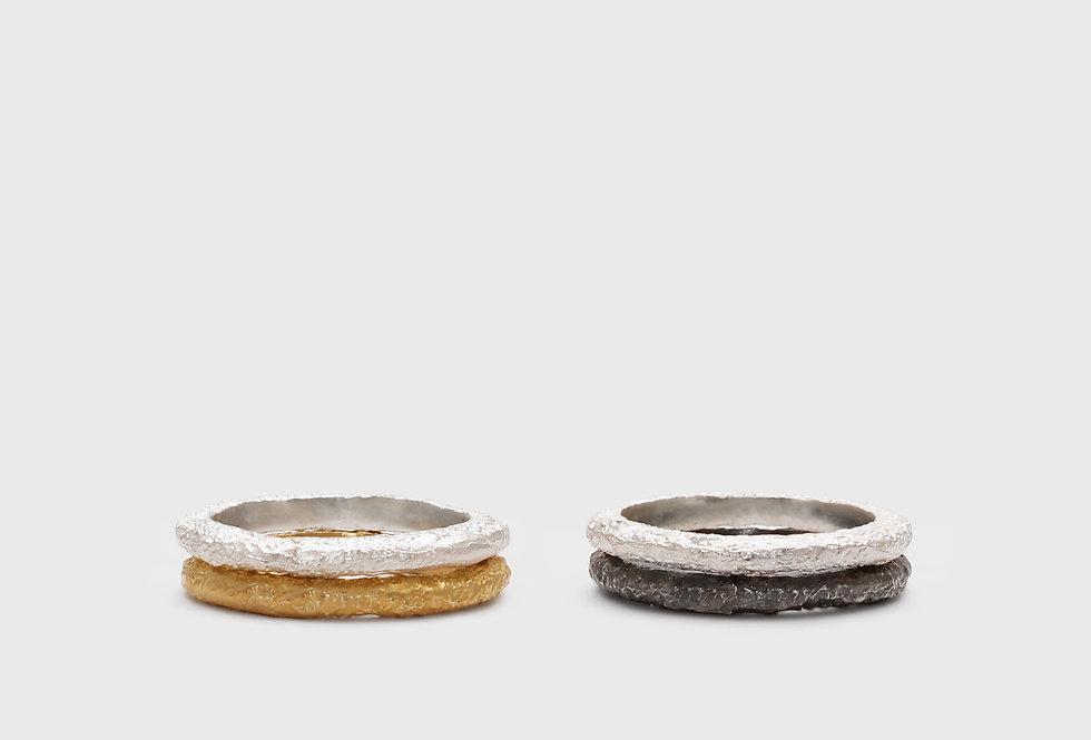 Wabi Basic Silver Rings