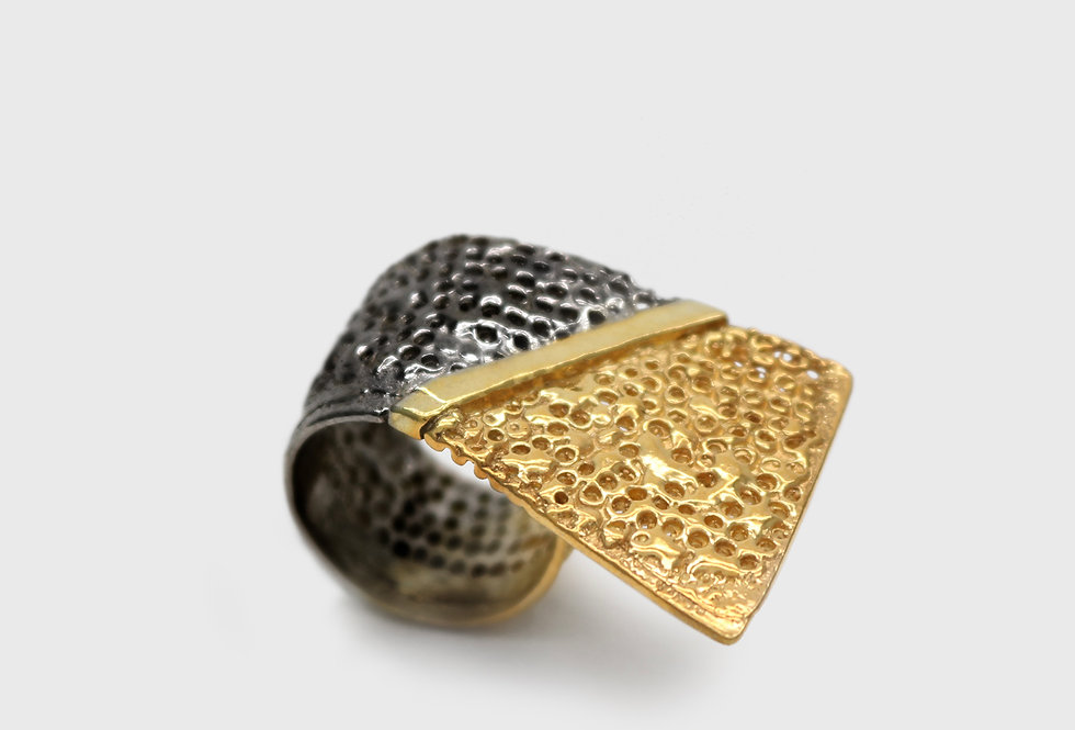 Paula Vieira Jewellery – Vulcana Wave Ring