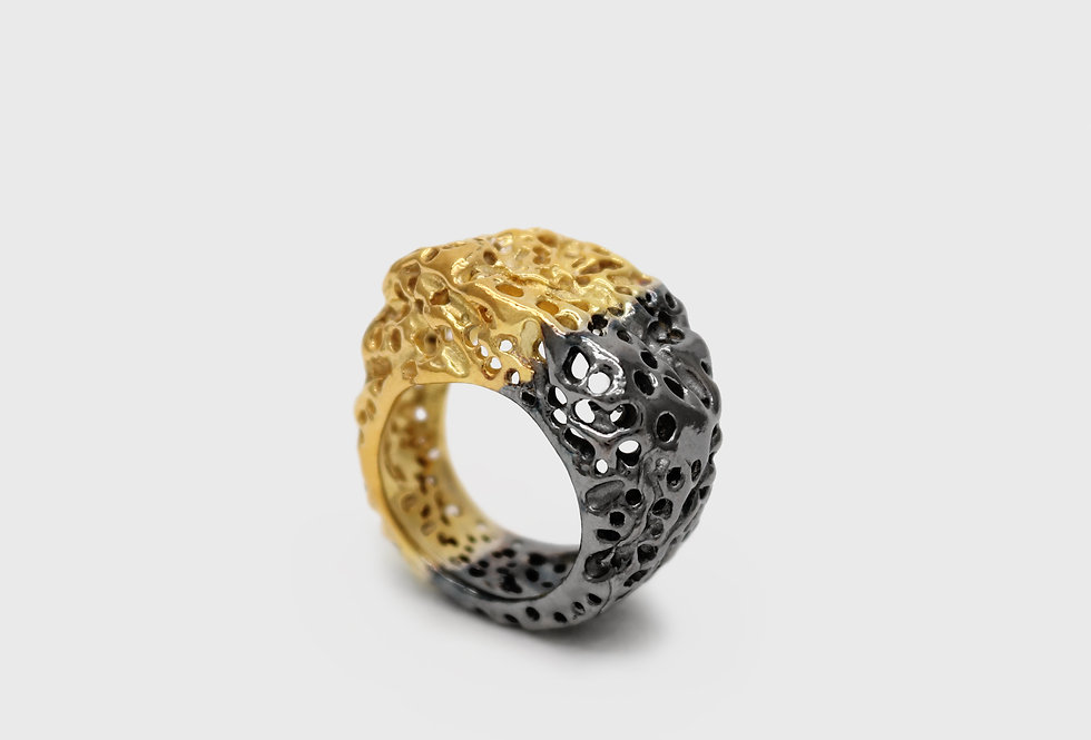 Vulcana Silver Ring