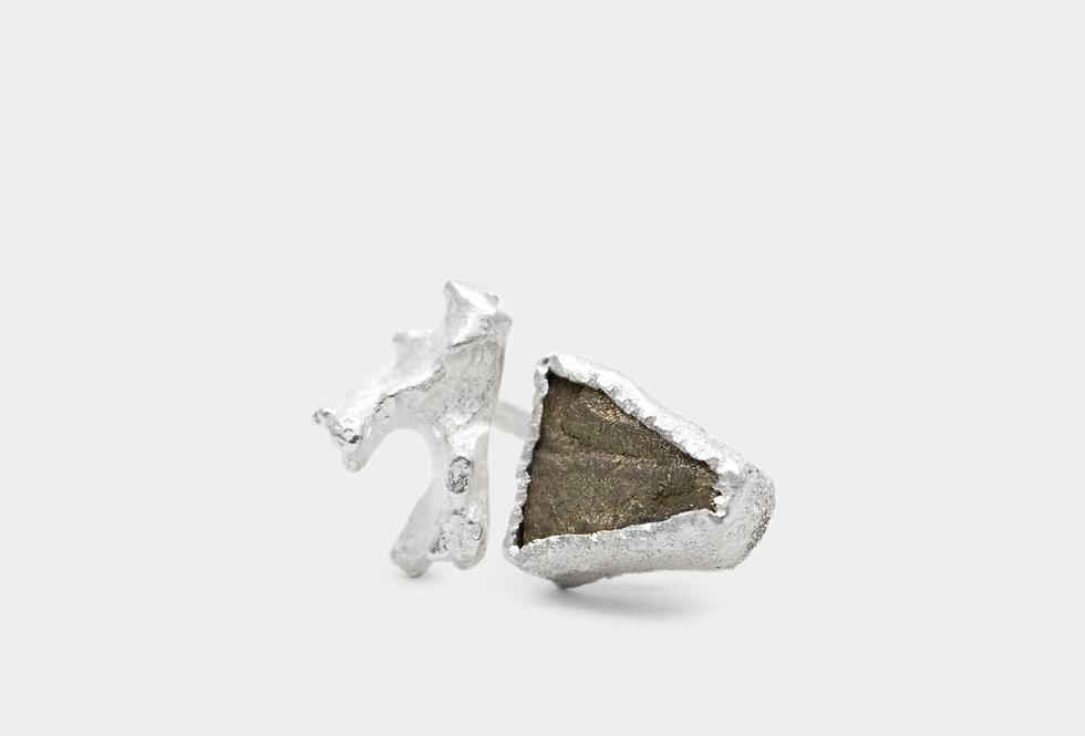 Paula Vieira Jewellery Pyrite Silver Ring