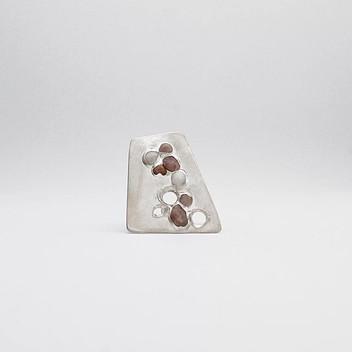 Paula Vieira Jewellery 925 Silver Ring and Sand