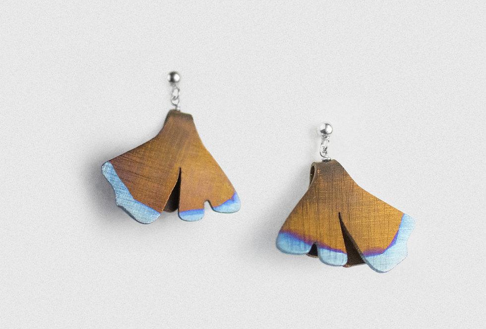 Paula Vieira Jewellery Anodised Titanium Earrings