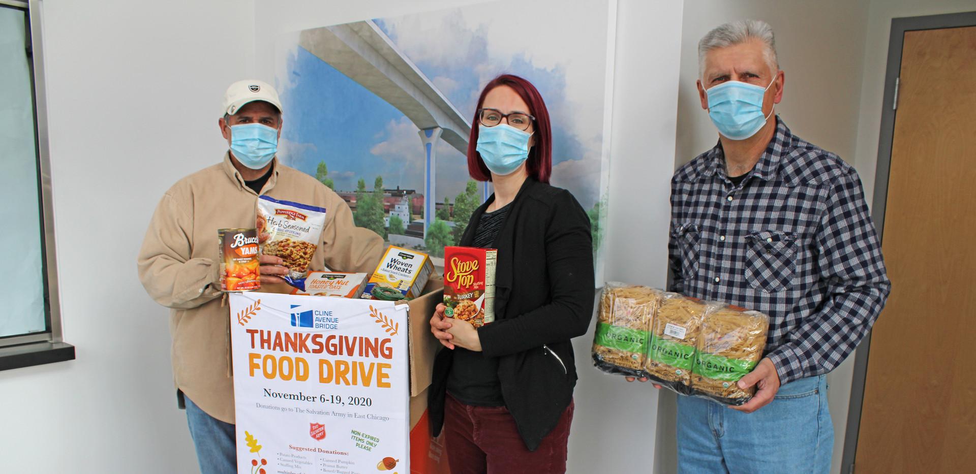 2020 Thanksgiving Food Drive