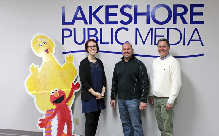 Visit to Lakeshore Public Media