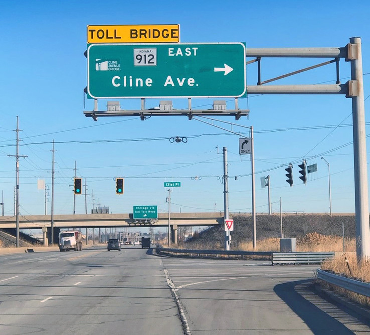 (48) Calumet Ave Northbound, South of Cline Overpass