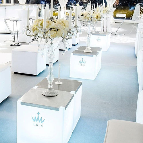 Cube seating & tables