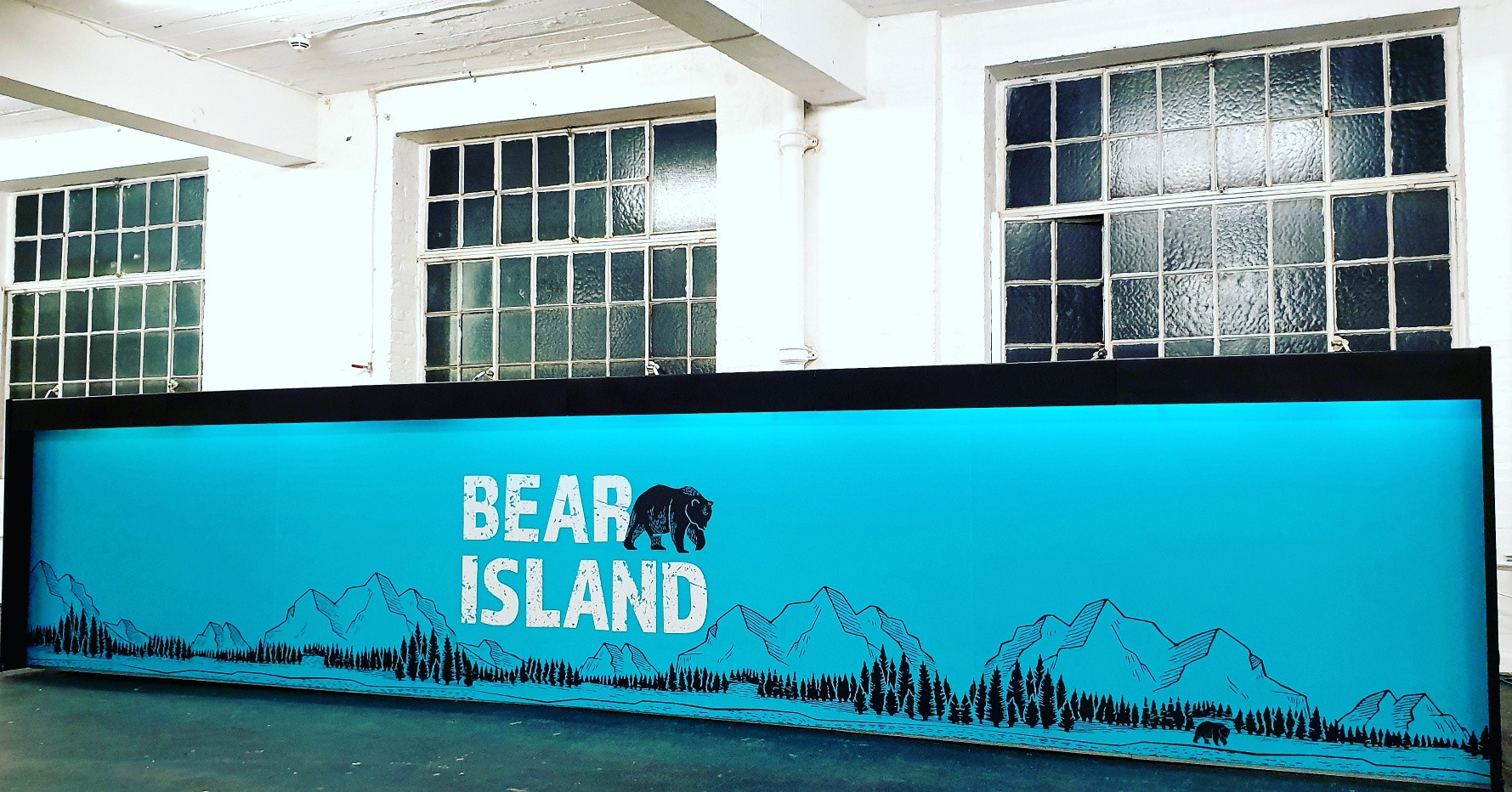 Branded bar for Bear Island Brewery.jpg