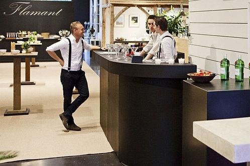 Modular Bar - Black cocktail bar