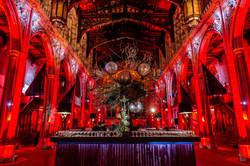 4.5m x 5.5m Gothic Themed Island Bar