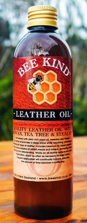 Bee Kind Leather Oil