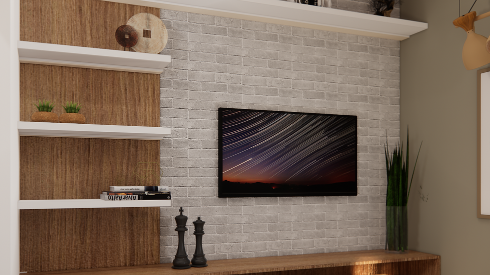 Virtual Styling - Living room decoration