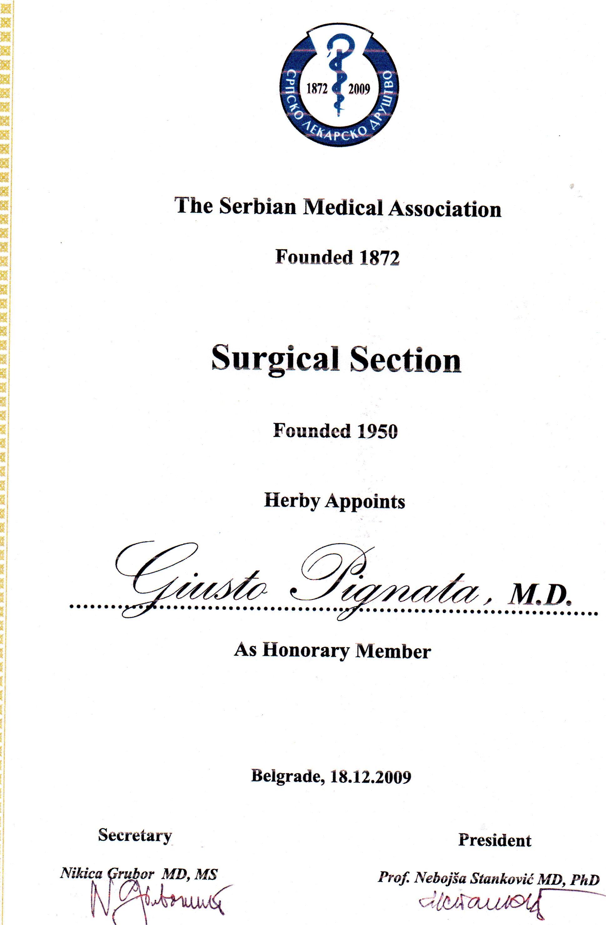 serbian association