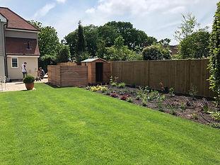 New turf garden